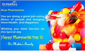 Happy Pharmacist Day- Dr.Mehta's Hospital