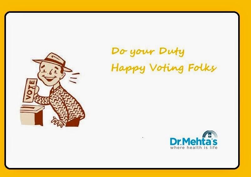Happy Voting-Dr.Mehta's Hospital